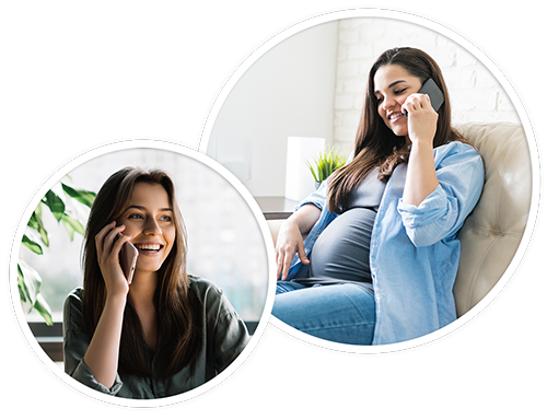 one-on-one support with A BIRTH MOM
